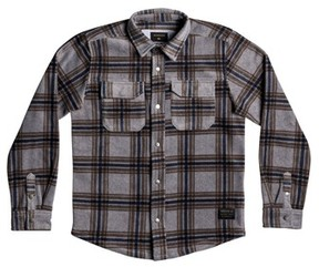 Quiksilver Boy's Surf Days Plaid Shirt