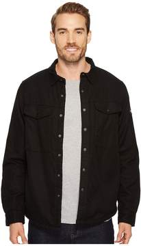 The North Face Campground Sherpa Shirt Men's Long Sleeve Button Up
