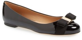 Salvatore Ferragamo Women's Varina Leather Flat