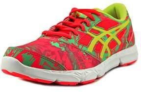 Asics 33-dfa- 2 Gs Youth Round Toe Synthetic Pink Running Shoe.