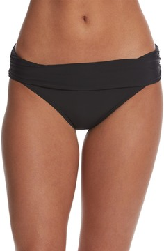 Athena Cabana Solids Lani Banded Bikini Bottom 8149096