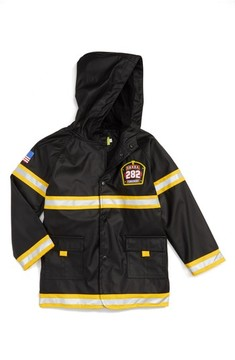 Western Chief Toddler Boy's Fire Chief Raincoat