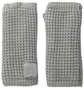 Hat Attack Waffle Knit Arm Warmer Extreme Cold Weather Gloves