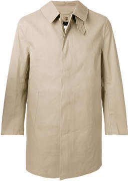 MACKINTOSH button-down collar coat
