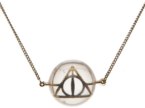 Bioworld Harry Potter Deathly Hallows Pendant Necklace