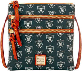Dooney & Bourke NFL Raiders Triple Zip Crossbody