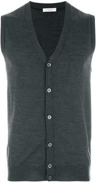 Paolo Pecora sleeveless cardigan