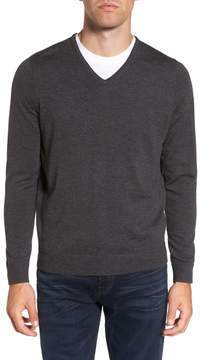 Nordstrom V-Neck Merino Wool Sweater (Regular & Tall)