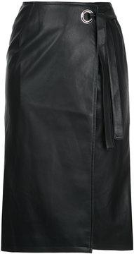 CITYSHOP knee-length wrap skirt