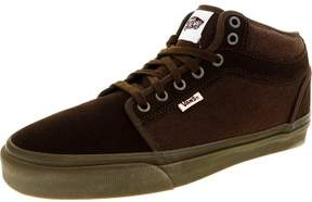 Vans Men's Chukka Midtop Brown / Gum Ankle-High Suede Fashion Sneaker - 7M