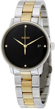 Rado Coupole Black Dial Diamond Men's Watch