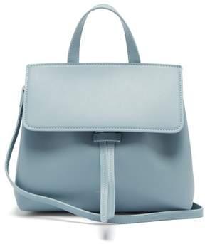 Mansur Gavriel Mini Mini Lady Leather Cross Body Bag - Womens - Light Grey