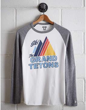 Tailgate Men's Ski Grand Tetons Baseball Shirt