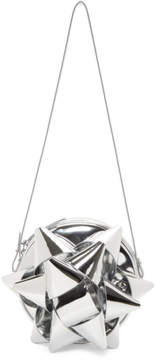 Maison Margiela Silver Bow Shoulder Bag
