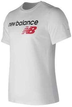 New Balance Men's MT73581 Athletics Main Logo Tee