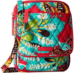 Vera Bradley Mini Hipster Cross Body Handbags - HAVANA ROSE - STYLE