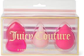 Juicy Couture Pink Beauty Blender Makeup Sponge - Set of Three