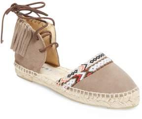 Manebi Women's Leather Flat Sandal