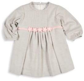 Florence Eiseman Baby's Herringbone Long Sleeves Dress