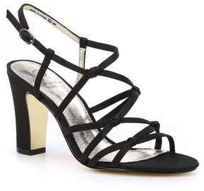 Adrianna Papell Adelson Satin Block Heel Dress Sandals