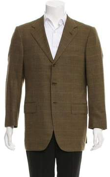Luciano Barbera Wool & Cashmere-Blend Blazer