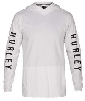 Hurley The One Hooded Long Sleeve T-Shirt
