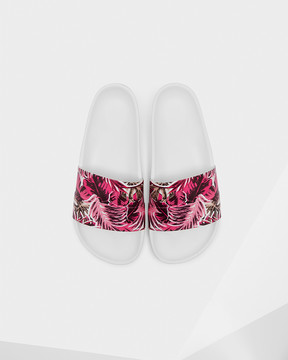 Hunter Women's Original Jungle Print Slides