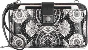 Sakroots Artist Circle Large Smartphone Crossbody (Women's)