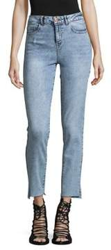 Noisy May Taylor Straight-Leg Ankle Jeans