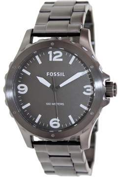 Fossil Nate JR1457 Grey Dial Watch