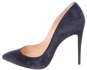 Christian Louboutin Pigalle Foillies 100 Pumps