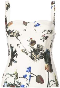 ADAM by Adam Lippes slim-fit corset top