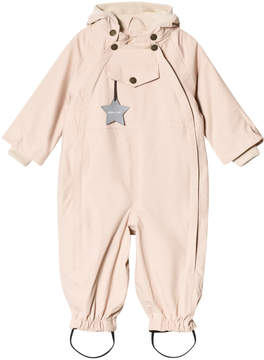 Mini A Ture Pale Pink Ski Suit