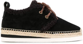See by Chloe Glyn lace-up espadrilles
