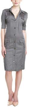 Basler Linen-Blend Shirt Dress
