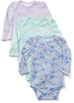 Gap Cuddle & Play Print Bodysuit (3-Pack)