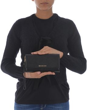 Michael Kors Jet Set Continental Wallet - NERO - STYLE