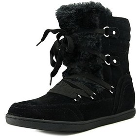 G by Guess Ryla Round Toe Canvas Winter Boot.
