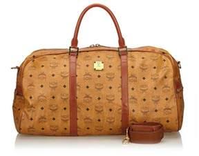 MCM Pre-owned: Visetos Travel Bag.