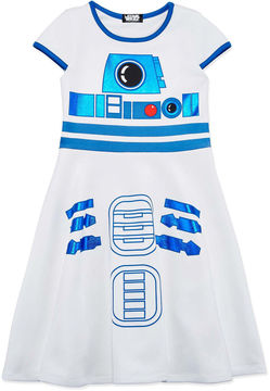 Star Wars STARWARS Short Sleeve Cap Sleeve Skater Dress - Big Kid Girls