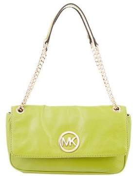 MICHAEL Michael Kors Convertible Leather Shoulder Bag