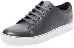 Lanvin Men's Leather Cap-Toe Sneaker