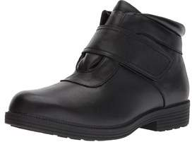 Propet Mens Tyler Leather Round Toe Ankle Safety Boots.