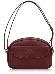 Cartier Pre-owned: Leather Must De Shoulder Bag.