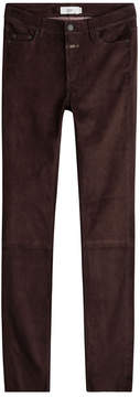 Closed Skinny Suede Pants