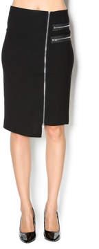 Blvd Zipped Up Skirt
