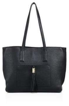 Milly Astor Large Pebble Leather Tote