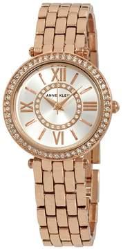Anne Klein Swarovski Crystals Silver Dial Ladies Watch