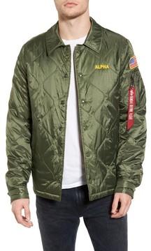 Alpha Industries Men's Quilted Storm Cruiser Jacket
