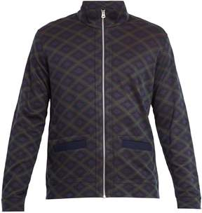 Junya Watanabe Artyle checked wool-blend jacket